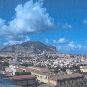 Mount Pellegrino of Palermo