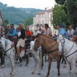 On horseback Molise