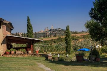 Holiday house Le Case San Gimignano  Holiday house Le Case Tuscany