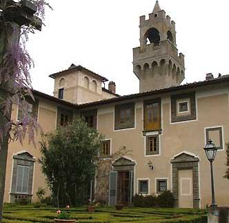 Château Montegufoni Italie Château Montegufoni Toscane Florence Italie