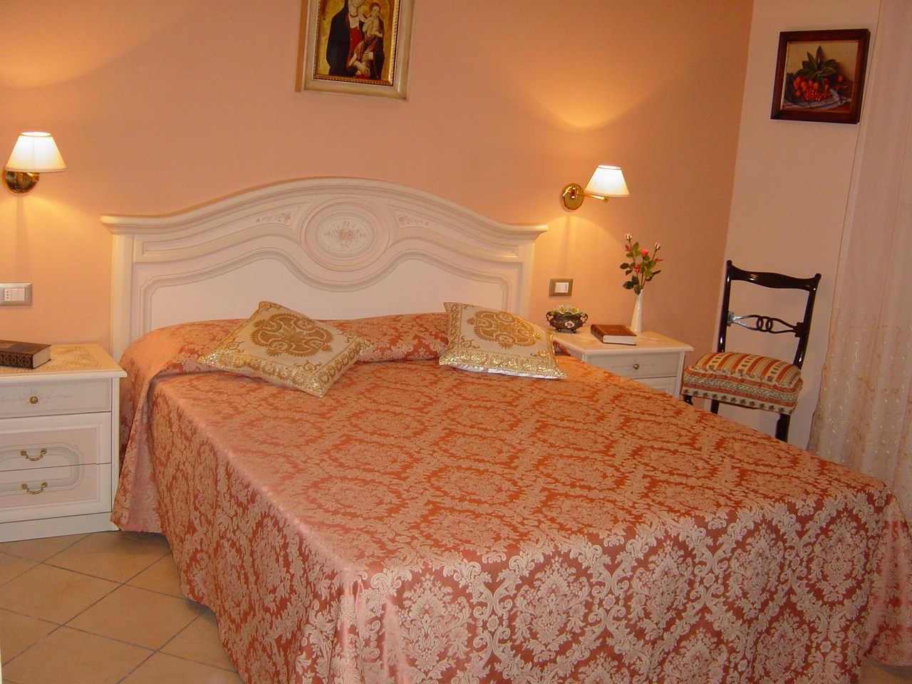 Camera Da Letto Color Rosa : Pittura camera da letto rosa antico color cipria per pareti iv
