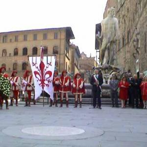 Celebrazioni per la morte del Savonarola a Firenze
