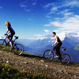 Escursioni in bicicletta sulle Dolomiti