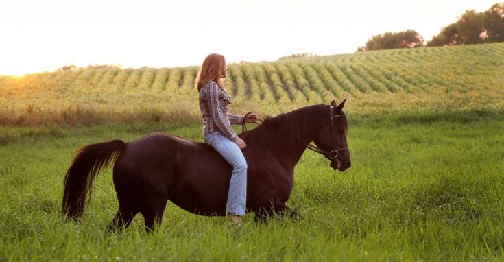 Agriturismo con maneggio per vacanze equestri in Italia