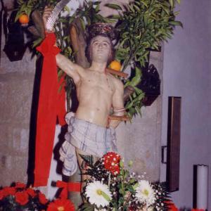 Processione di San Sebastiano Curcuris Oristano