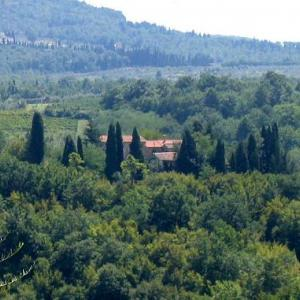 percorso trekking sulle colline fiorentine
